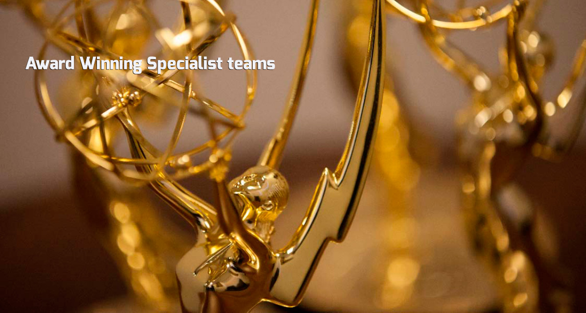 Award Winning Specialist Teams
