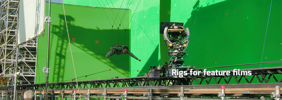 Rigs for feature films