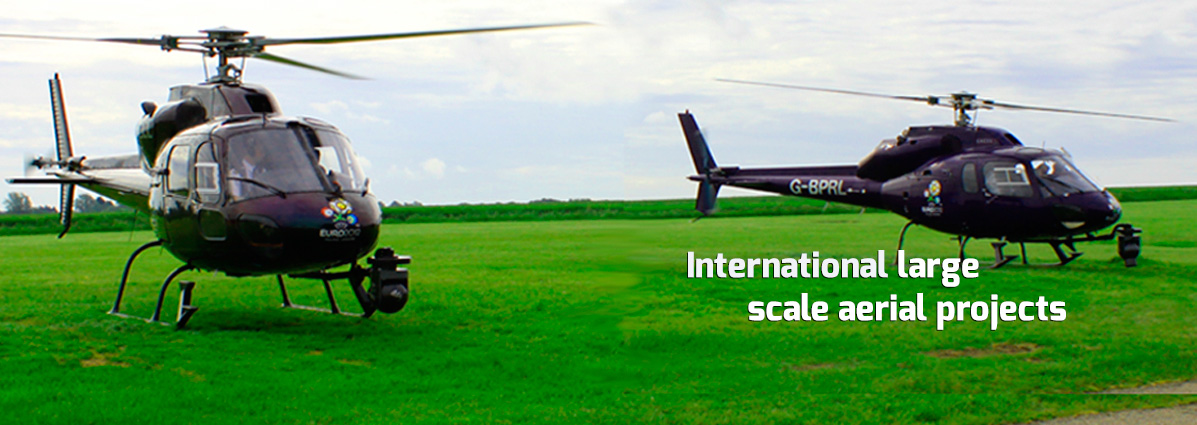 International large scale aerial projects
