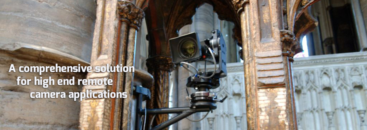 comprehensive solution for high end remote camera applications
