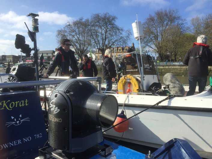 Aerial Camera Systems, filming, Boat Race.
