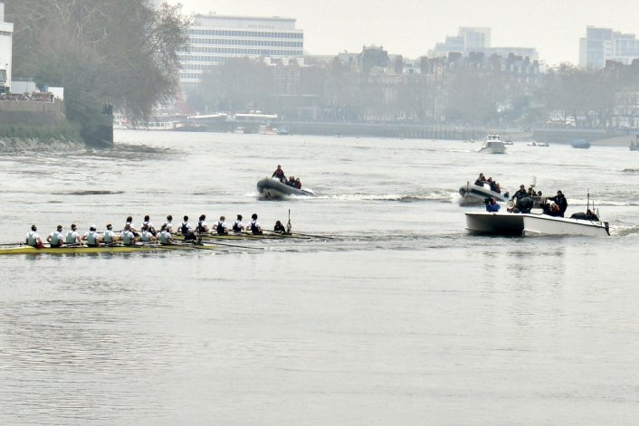 Aerial Camera,Filming,Boat Race